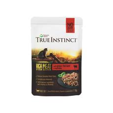 Natures Menu True Instinct High Meat Fillet Free Range Beef Adult Cat Pouches 8 X 70g
