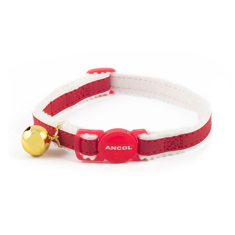 Ancol Safety Red Reflective Cat Collar 3 X