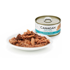 Canagan Ocean Tuna Grain Free Wet Cat Food 12 X 75g