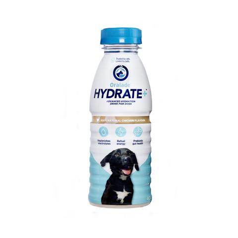 Oralade Hydrate Dog Drink 400ml