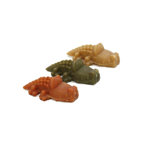 Whimzees Alligator 87mm Medium Dental Dog Chew Treat Pack 12 Pack