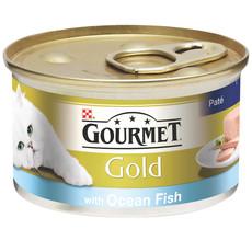 Gourmet Gold Cat Food Pate With Ocean Fish 12 X 85g