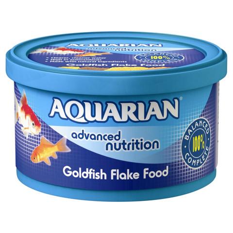 Aquarian Goldfish Flake Food 25g