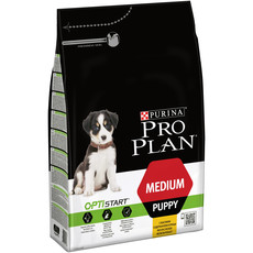 Pro Plan Medium Breed Optistart Puppy Food With Chicken 3kg