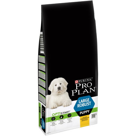 Pro Plan Large Breed Robust Puppy Optistart Food With Chicken 12kg