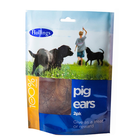 Hollings Pigs Ears Dog Treat 10-pack