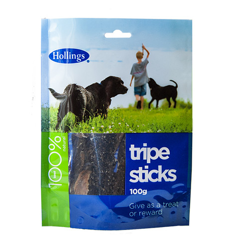 Hollings Tripe Sticks Dog Treat 100g