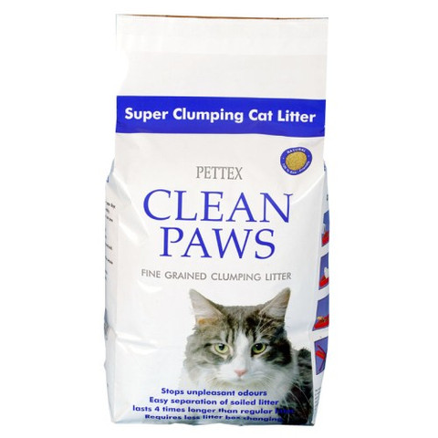 Clean Paws Micro Granules Clumping Cat Litter 5kg
