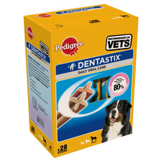 Pedigree Dentastix Daily Oral Care Dental Chews Large Dog 28 Sticks