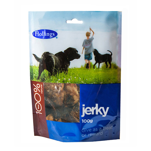 Hollings Puffed Jerky Dog Treat 100g