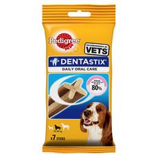 Pedigree Dentastix Daily Oral Care Dental Chews Medium Dog 7 Sticks
