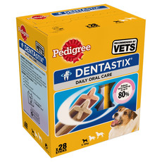 Pedigree Dentastix Daily Oral Care Dental Chews Small Dog 28 Sticks