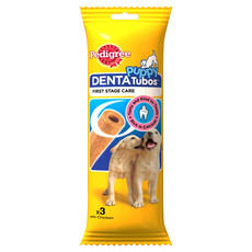 Pedigree Puppy Dental Tubos Treats 72g