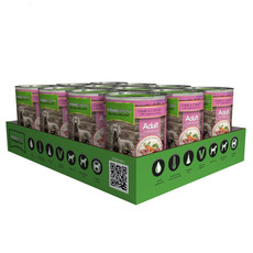 Natures Menu Natural Cans For Dogs With Lamb And Chicken 12 X 400g
