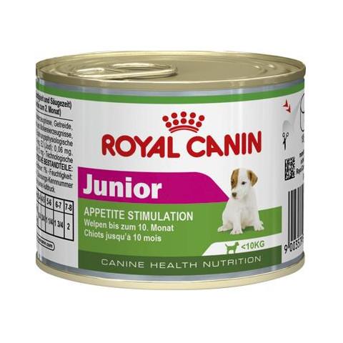 Royal Canin Junior Wet Dog Food 12 X 195g