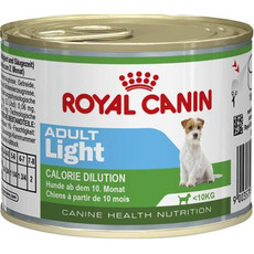 Royal Canin Adult Light Wet Dog Food 12 X 195g