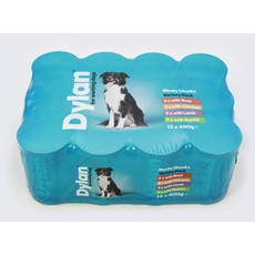 Dylan Working Dog Food Tins 12 X 400g