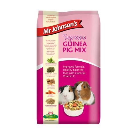 Mr Johnsons Supreme Guinea Pig Mix Food 900g