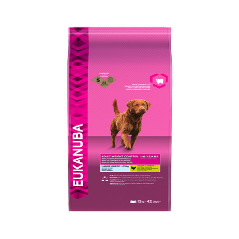Eukanuba Adult Weight Control Large Breed Dry Dog Food 12kg