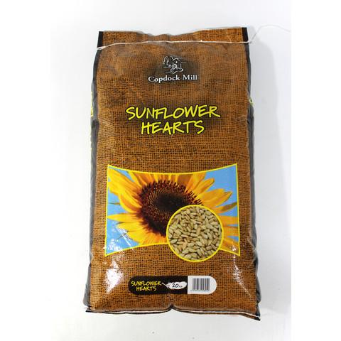 Copdock Mill Wild Bird Sunflower Hearts 20 X 1kg