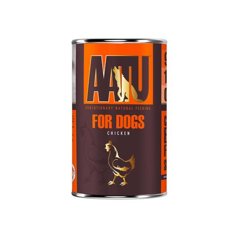 Aatu 90/10 Chicken Grain Free Adult Wet Dog Food 6 X 400g