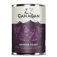 Canagan Senior Feast Grain Free Senior Wet Dog Food 6 X 400g