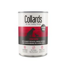 Collards Hypo-allergenic Grain Free Adult Dog Wet Can With Chicken 12 X 390g