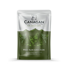 Canagan Free Run Chicken Grain Free Wet Cat Food 8 X 85g