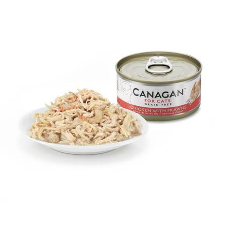 Canagan Chicken And Prawn Grain Free Wet Cat Food 12 X 75g