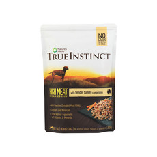 Natures Menu True Instinct High Meat Fillet Turkey Adult Dog Pouches 8 X 300g
