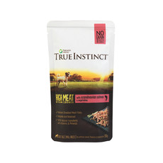 Natures Menu True Instinct High Meat Fillet Scandinavian Salmon Small Breed Dog Pouches 8 X 150g