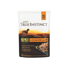 Natures Menu True Instinct High Meat Fillet Free Range Chicken Adult Dog Pouches 8 X 300g