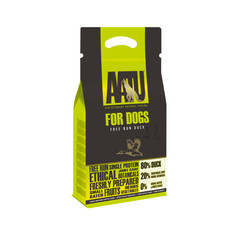 Aatu 80/20 Free Run Duck Grain Free Adult Dog Food 1.5kg