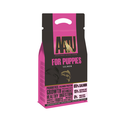 Aatu 85/15 Salmon Grain Free Puppy Food 1.5kg