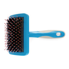 Ancol Ergo Hedgehog Soft Slicker Dog Brush Medium 1 X Medium