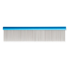 Ancol Ergo Medium And Coarse Aluminium Dog Comb 7 Inch 1 X 7 Inch