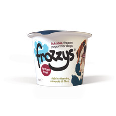 Frozzys Lickable Frozen Blueberry Yoghurt Treat For Dogs 85g