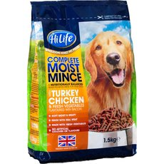 (d) Hilife Complete Moist With Turkey And Chicken With Bacon 1.5kg