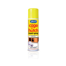 Johnsons Cage And Hutch Insect, Flea & Mite Spray 250ml
