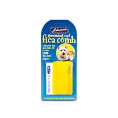 Johnsons Flea Comb And Testing Kit