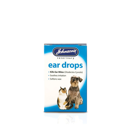 Johnsons Ear Drops For Cats And Dogs 15ml