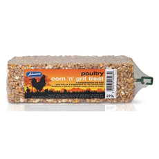 Johnsons Poultry Corn And Grit Treat Bar 270g