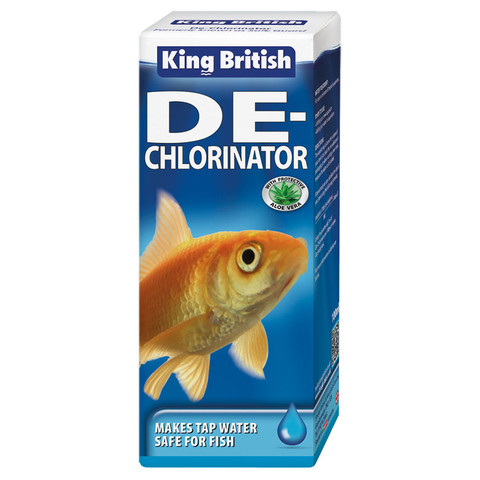 King British De-chlorinator Treatment (previously Safe Guard) 100ml