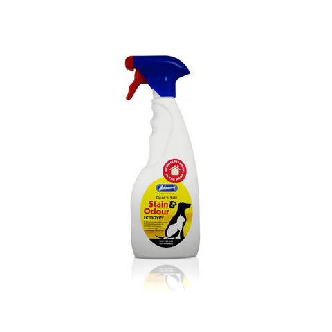 Johnsons Clean 'n' Safe Stain & Odour Remover Spray 500ml