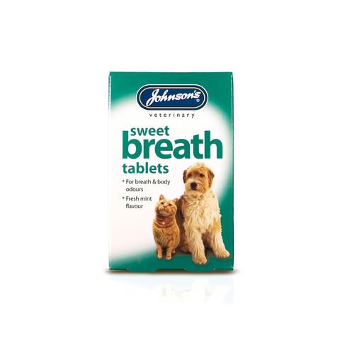 Johnsons Sweet Breath Tablets 30 Tablets