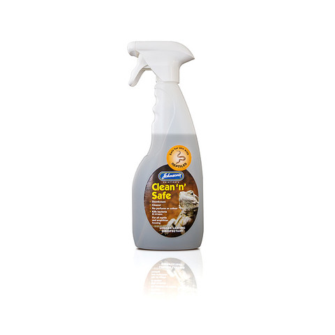 Jvp Clean 'n' Safe Disinfectant Cleaning Reptile Spray 500ml