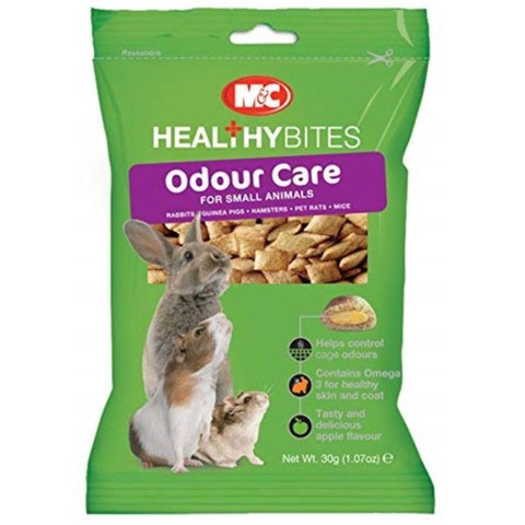 Mark And Chappell Odour-care Treats For Small Animals 30g