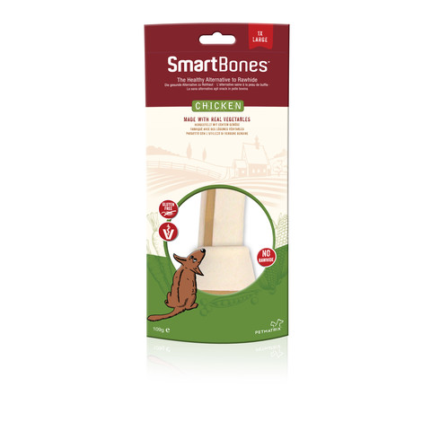 (d) Smartbones Large Chicken Bone Chew For Dogs 1 Pack