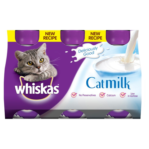 Whiskas Cat Milk 3 X 200ml