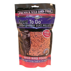 Unipet Suet To Go Berry Suet Pellets 550g